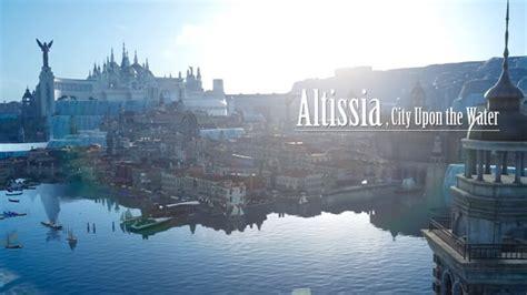 final fantasy xv altissia and regalia type f trailers are