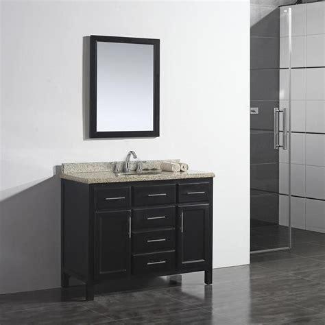ove decors malibu   dark espresso single sink bathroom