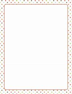 Dot Page Borders - ClipArt Best