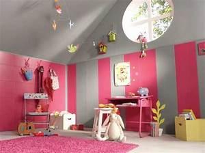 idee cameretta bimba arredare una bella cameretta rosa With incroyable papier peint couleur taupe 5 peinture rose chambre chambre fillette rose et grise with
