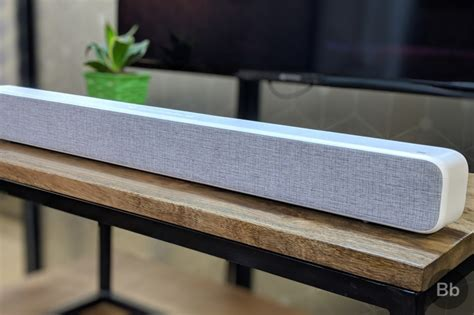 xiaomi mi soundbar review cinematic sound at a bargain price beebom