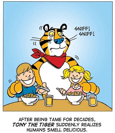 Tony The Tiger Meme - the insane asylum when animals attack
