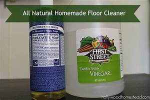 All natural homemade floor cleaner hollywood homestead for Home made floor cleaner