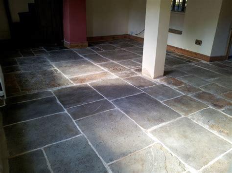 Flagstone Floor Cleaning & Sealing Oxfordshire Floor