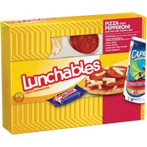 Lunchables Pepperoni Pizza