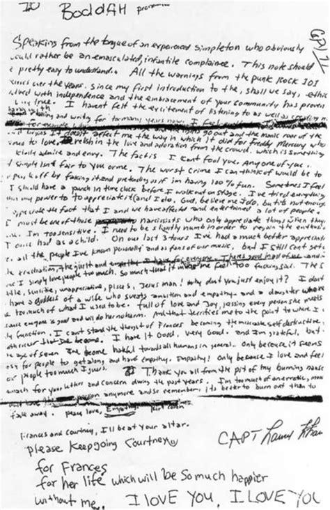 kurt cobain letter 6 terribly tragic things you didn t about kurt cobain 22673 | screen shot 2017 05 02 at 9 26 24 pm