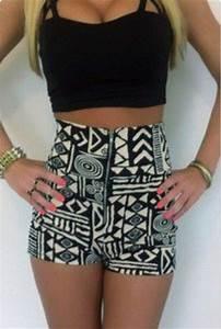 Shorts | The shorts, I love and Black crop tops
