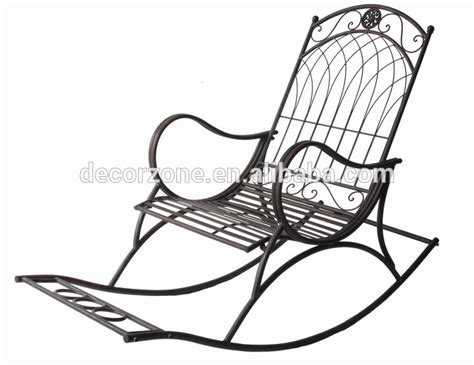 inexpensive antique metal garden rocking chairs buy