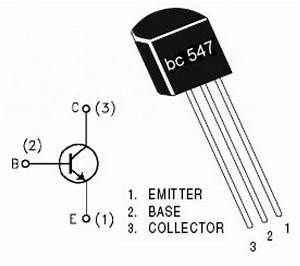 basics of bc547 With vibration detector motion electronic project using bipolar transistors