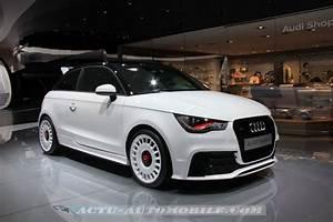 Audi A1 Quattro Prix : audi a1 quattro 333 exemplaires 51190 euros actu automobile ~ Gottalentnigeria.com Avis de Voitures