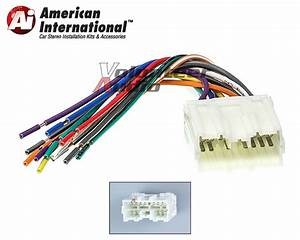 Mitsubishi Car Stereo Cd Player Wiring Harness Wire
