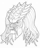 Predator Coloring Alien Pages Vs Nashville Predators Cartoon Meteor Getcolorings Printable Aliens Print Sheets Getdrawings Colorings Onlin Hockey sketch template