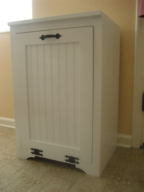 Ana White Tilt Out Wood Trash Can Cabinet Diy Projects