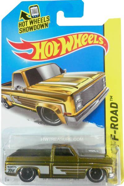 chevy silverado hot wheels  super treasure hunt