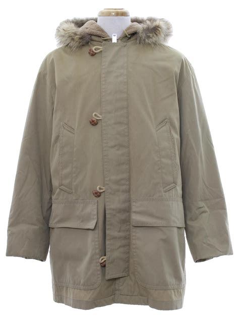 mighty mac  vintage jacket  mighty mac mens tan