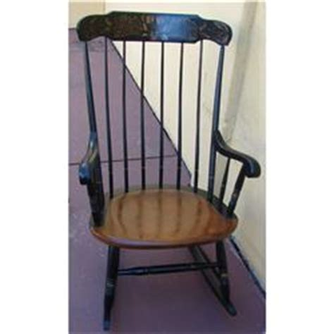 Hitchcock Rocking Chair Value by Hitchcock Rocking Chair Circa 1971