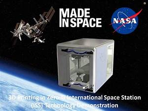 NASA Sends Amazing 3D Printer To Space Station