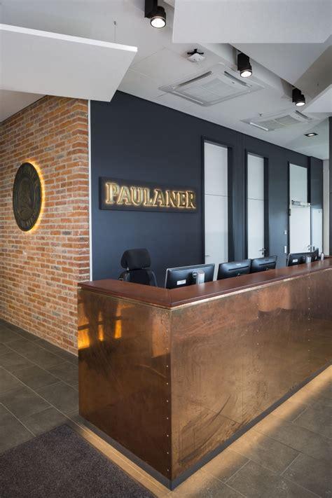paulaner brewery headquarter  kitzig interior design