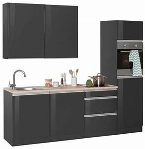 Küchenzeile 240 Cm : held m bel k chenzeile ohio ohne e ger te breite 240 cm ~ Orissabook.com Haus und Dekorationen