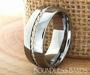 tungsten rings men wedding rings and wedding band rings With custom wedding rings for him