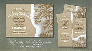 Exclusive beach wedding invites theruntimecom for Wedding invitations newport beach