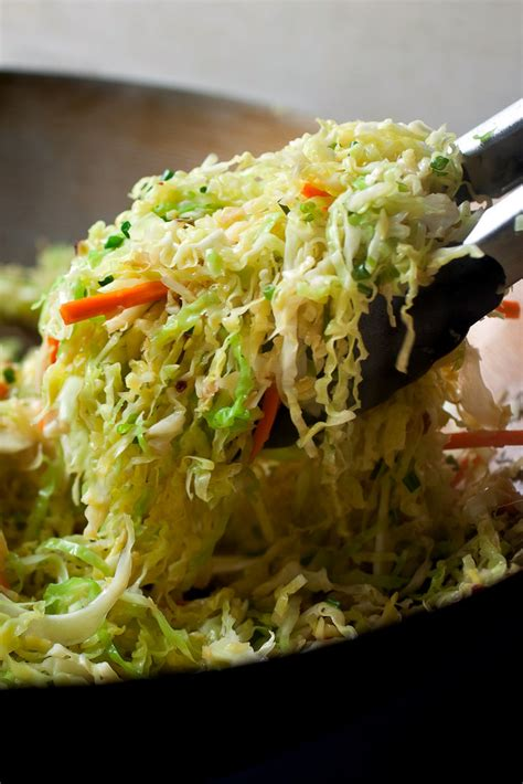spicy stir fried cabbage recipe nyt cooking