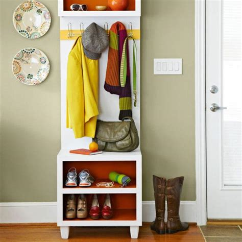 Lowes Entryway Bench by 10 Organized Hallways With Beautiful Coat Rack Bench Rilane