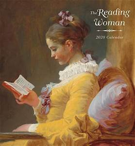 Large Wall Calendar 2020 The Reading Woman Calendar 2020 At Calendar Club