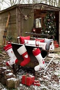 Log Cabin Christmas on Pinterest