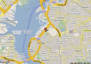 Map of Days Inn Brooklyn, Brooklyn