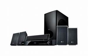 Lg Lhb535  1000 Watt 5 Disc Dvd Player Xm U00ae Home Theater