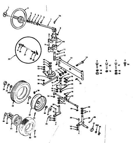 Sears Garden Tractor Parts by Craftsman Sears 14 6 Garden Tractor Electrical Parts