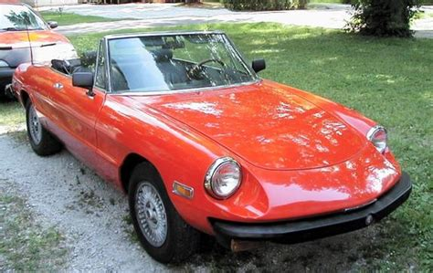 Redfoxcb9 1975 Alfa Romeo Spider Specs, Photos