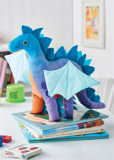 nigel  dragon toy  sewing patterns sew magazine