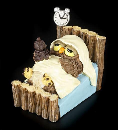 eulen bilder lustig gute nacht lustige eulen figur bett schlafen geschenk witzig spa 223 ebay