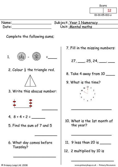 mental maths 13 primaryleap co uk