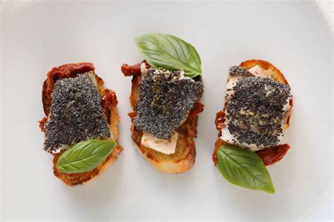 id馥 cuisine facile cuisine facile com bouchées de rouget aux graines de pavot