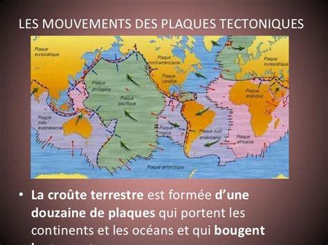 le eplaque la dérive des continents et les plaques tectoniques