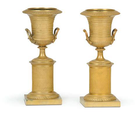 carlo vasi coppia di vasi medicei carlo x in bronzo dorato xix