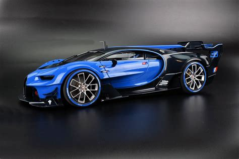 The kind of car i drive this is a car that is made as part of the vision gran turismo concept present in the ps3 game, gran turismo 6. PHOTO GALLERY: AUTOart Bugatti Vision Gran Turismo • DiecastSociety.com