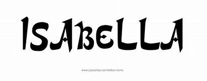 Isabella Tattoo Designs Names