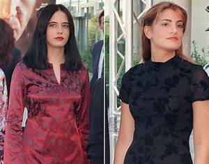 Actress Eva Green and her non-identical twin sister Joy ...