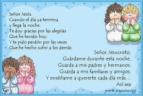 Oraciones Para NiÑos Preescolar