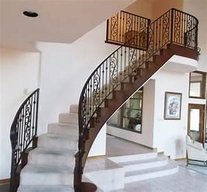 Marvelous Interior Metal Stair Railing #8 Interior Iron
