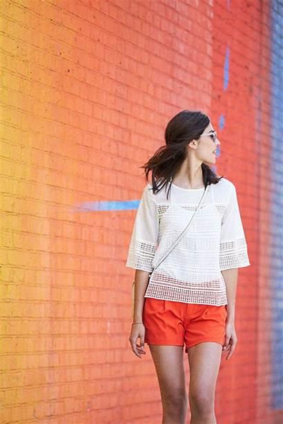 Summer Shorts Lace Feminine Outfits Blouse Gap
