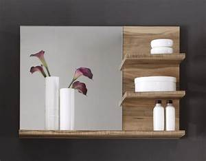 Miroir de salle de bain contemporain coloris chene bloom for Miroir salle de bain contemporain