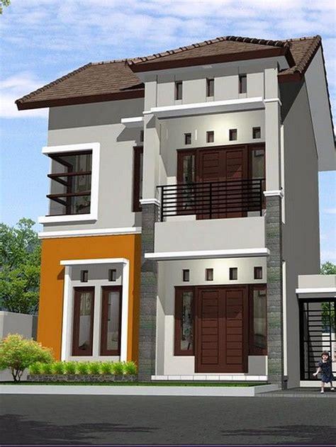 model rumah minimalis  lantai sederhana casa modelo