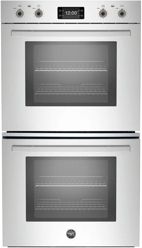 bertazzoni profdxt   double electric wall oven   cu ft total capacity dual