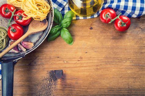 italian  mediterranean food ingredients  wooden