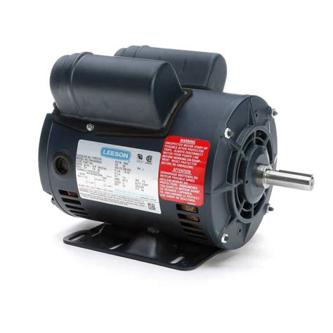 5 Hp Electric Motor by Leeson Electric Motor 116523 00 5 Hp 3450 Rpm Single Phase